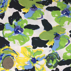 Cotton Floral Stretch Fabric CFS 2 - NY Fashion Center Fabrics