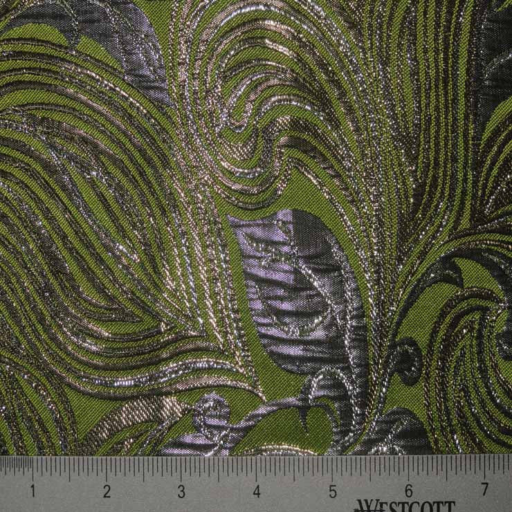 Polyester Tahiti Metallic Brocade Number5