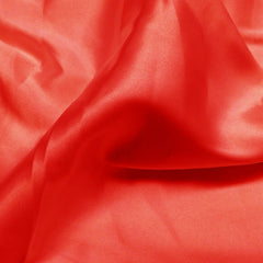 Charmeuse Satin Fabric 24  Paprika