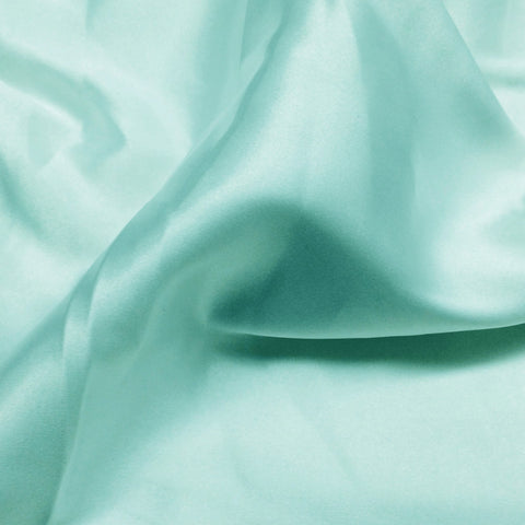 Charmeuse Satin Fabric 33  Tiffany Blue - NY Fashion Center Fabrics