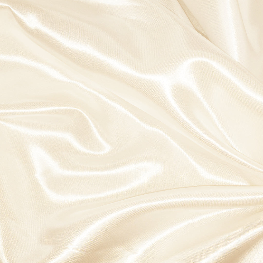 Luster Satin Fabric 3  Ivory - NY Fashion Center Fabrics