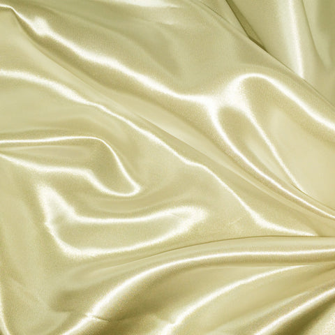 Luster Satin Fabric 5  Maize - NY Fashion Center Fabrics