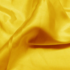 Charmeuse Satin Fabric 6  Bright Yellow - NY Fashion Center Fabrics