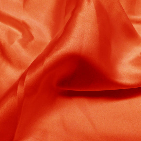 Charmeuse Satin Fabric 23  Orange - NY Fashion Center Fabrics