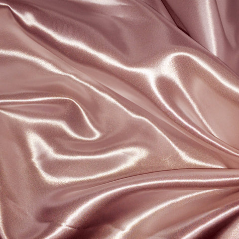 Luster Satin Fabric 20  Mink - NY Fashion Center Fabrics