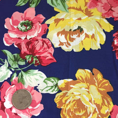 Cotton Floral Stretch Fabric CFS 1 - NY Fashion Center Fabrics