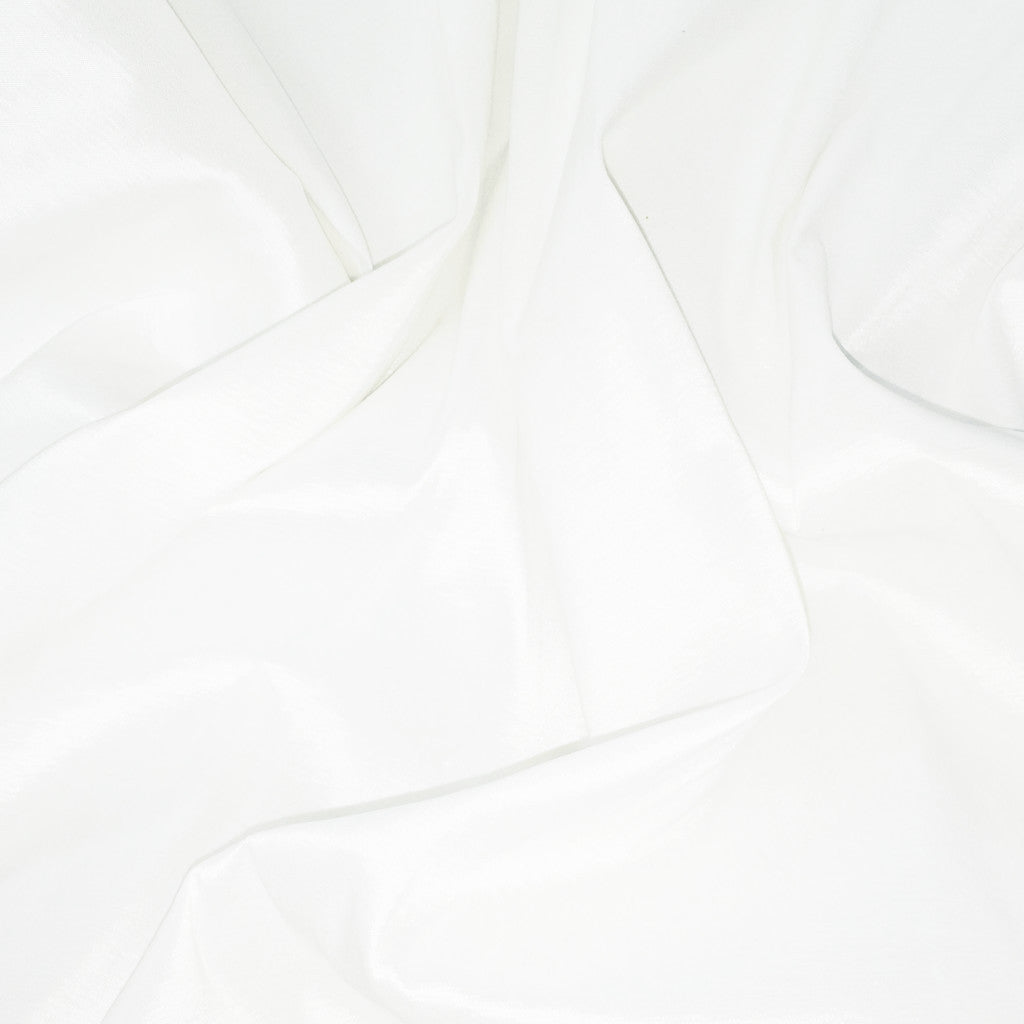 Stretch Taffeta 2  White