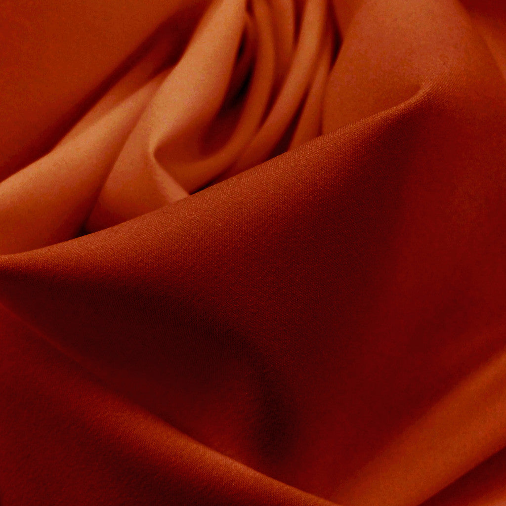 Pongee Lining Fabric 24  Orange