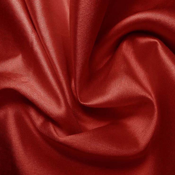 Silk Cotton Fabric Red