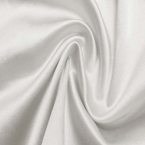 Silk/Nylon Blend Supreme Stretch Duchess Satin 06 Ivory