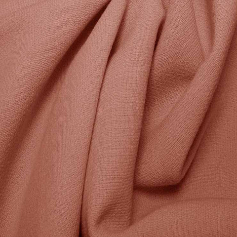 Wool Crepe Double Cloth 07 DustyPink