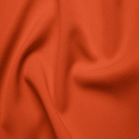Poly/Rayon Blend Stretch Gabardine - 20 Yard Bolt 07 Orange