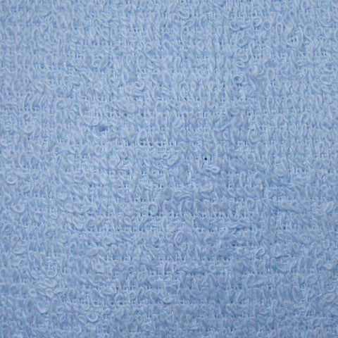 Cotton Terry Fabric - 20 Yard Bolt 09 baby blue - NY Fashion Center Fabrics