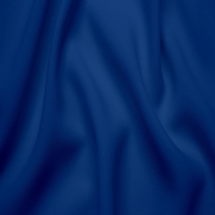 Polyester Stretch Crepe Jersey 10 Royal