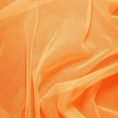 Nylon/Spandex Sheer Stretch Mesh 15 Orange - NY Fashion Center Fabrics