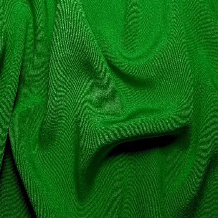Silk Crepe Back Satin Lime Green