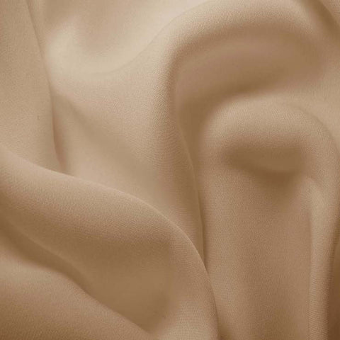 Silk Double Georgette Beige