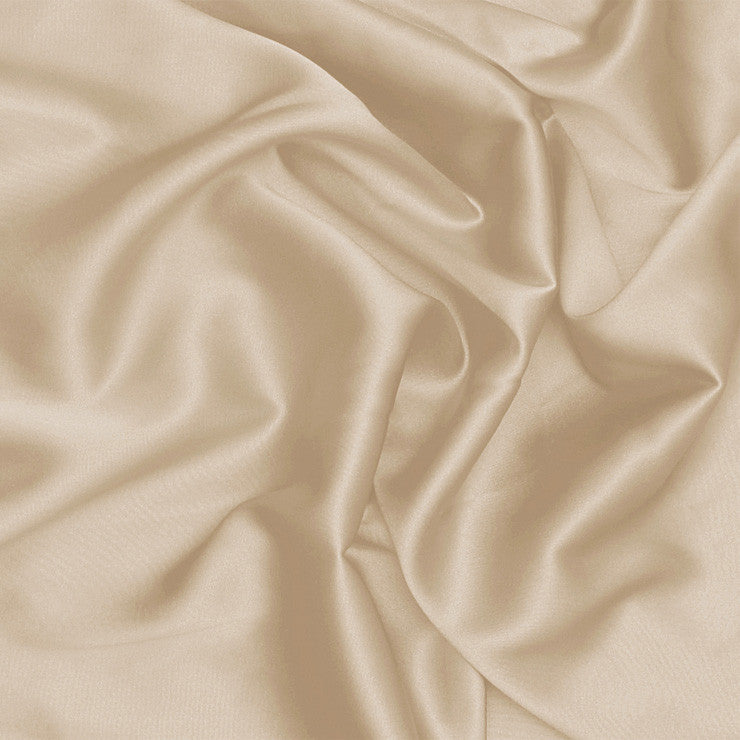 Silk Stretch Charmeuse Beige