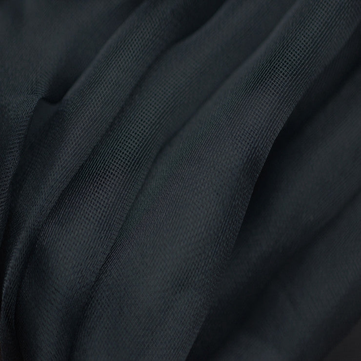 Silk Mesh Organza Dark Navy