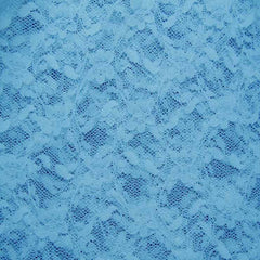 Nylon Stretch Raschel Lace 32 Tropical Turquoise - NY Fashion Center Fabrics