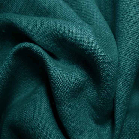 Heavyweight Linen 38 Jade - NY Fashion Center Fabrics