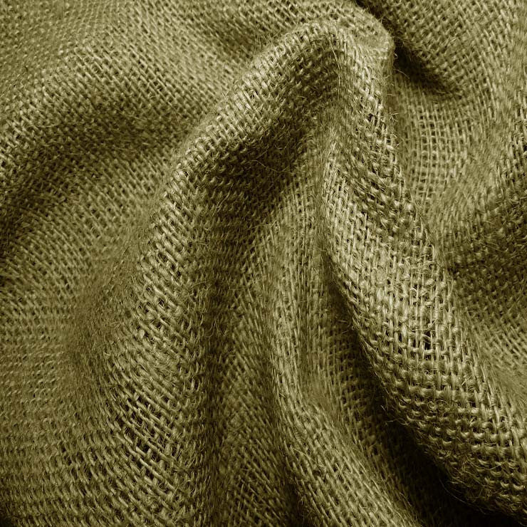 Sultana Burlap 16oz - 20 Yard Bolt 406546 Avocado