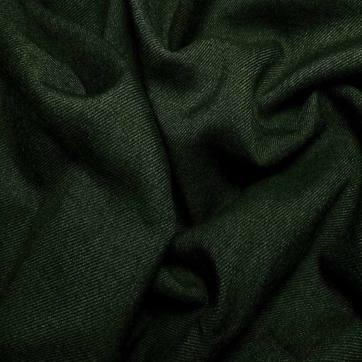 Wool Blend Serge 590 Bottle Green