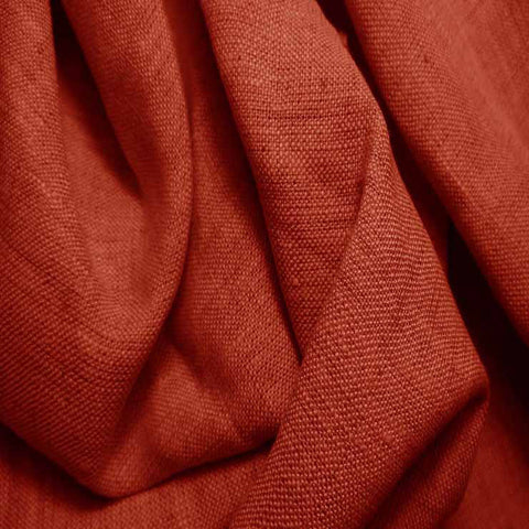 Medium Weight Linen - 6.5-oz 66 Terracotta - NY Fashion Center Fabrics
