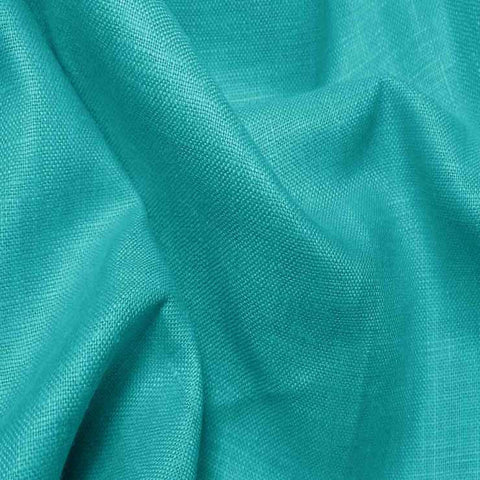 Lightweight Linen Aqua - NY Fashion Center Fabrics