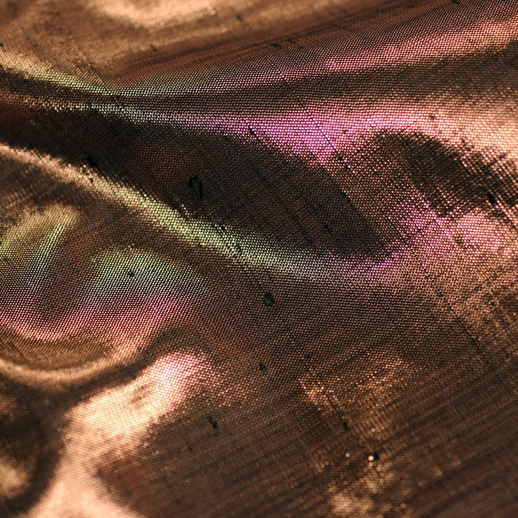 Opalescent Silk Shantung DL 10138