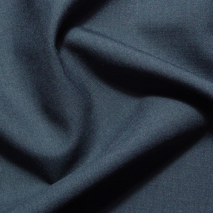 Italian Wool Suiting Light Teal Blue - NY Fashion Center Fabrics