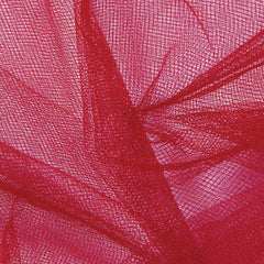 Nylon Tulle Red - NY Fashion Center Fabrics