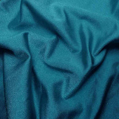 Solid Shiny Spandex Turquoise
