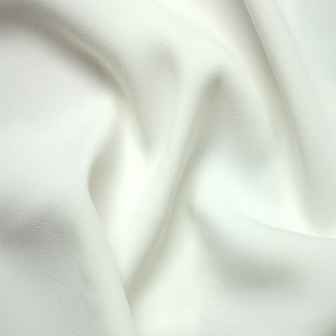 Polyester Stretch Crepe Jersey 00 White