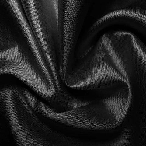 Silk Cotton Fabric Black