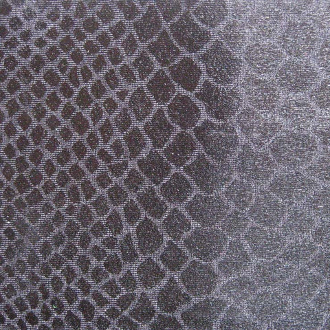 Anaconda Snake Print Spandex 01 Black - NY Fashion Center Fabrics