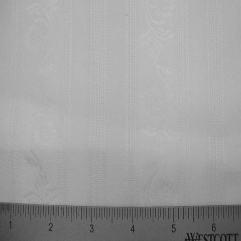 Cotton Damask #1 01 DAM0007WHT - NY Fashion Center Fabrics