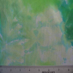 Tie Dye Stretch Mesh 01 Green
