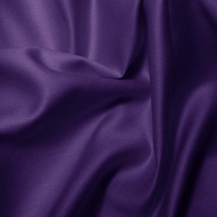 Pima Cotton Sateen - 20 Yard Bolt 01 Purple