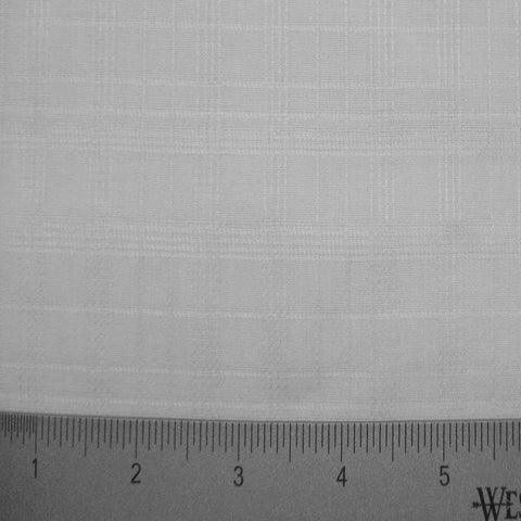 Cotton Solid Plaid Shirting 01 T T1707WHITE - NY Fashion Center Fabrics