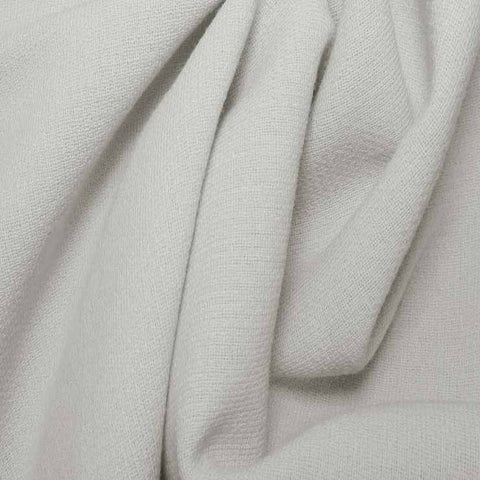 Wool Crepe Double Cloth 01 White