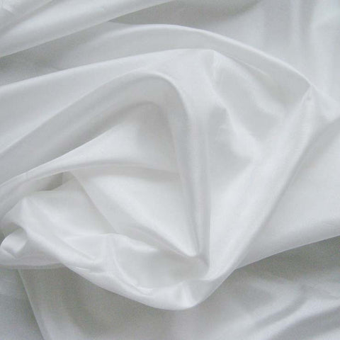Polyester China Silk 01 White