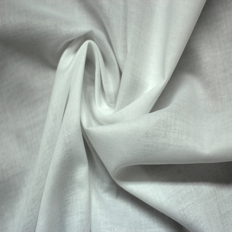 Cotton Voile 01 White - NY Fashion Center Fabrics
