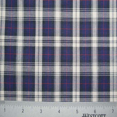 100% Cotton Fabric Checks Collection #5 01 Y D9810NWR - NY Fashion Center Fabrics