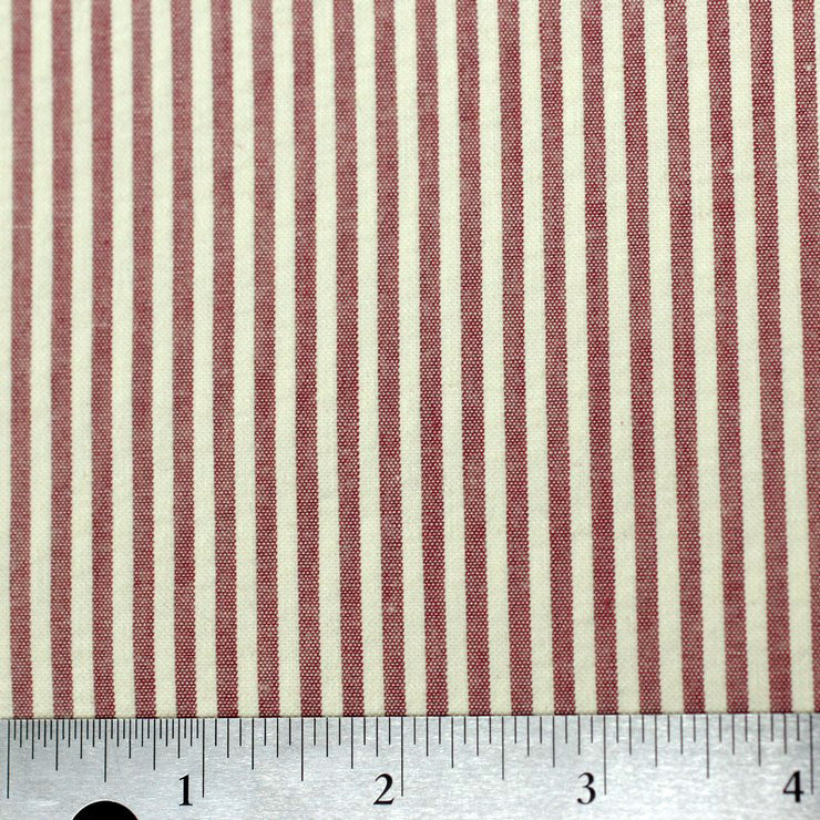 Cotton Seersucker 01 red - NY Fashion Center Fabrics