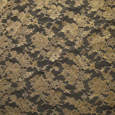 Re-Embroidered Alencon Lace 02 12060r 36Gold