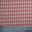 100% Cotton Fabric Checks Collection #2 02 CBY0004RED - NY Fashion Center Fabrics