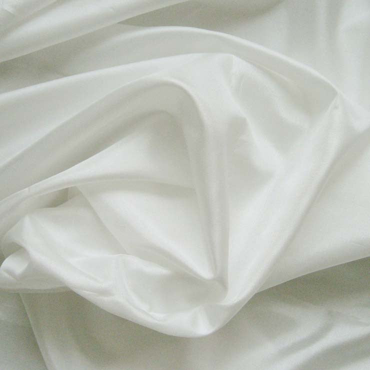 Polyester China Silk 02 Diamond White