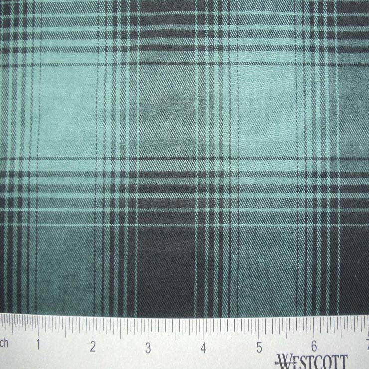 100% Cotton Fabric Checks Collection #3 02 FLN5001B G - NY Fashion Center Fabrics