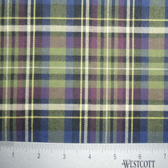 100% Cotton Fabric Checks Collection #6 02 FLN5005G N - NY Fashion Center Fabrics